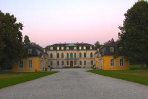 Eingang zum Schloss Wilhelmsthal