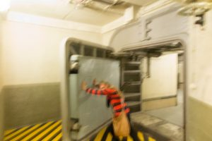 Me pushing the pressure gate open too quickly - sorry it's a bit blurry